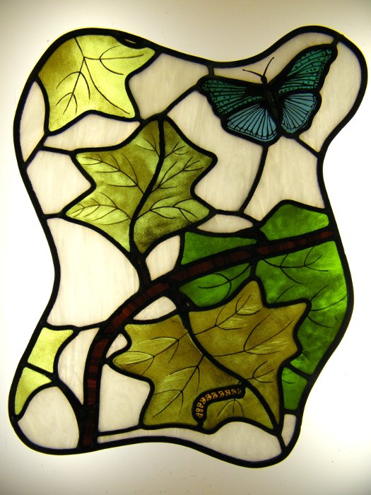 Stained Glass Course Silvia