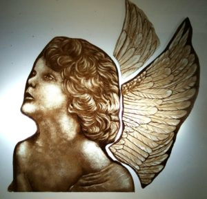 Glass Painting Class Angel