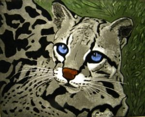 Glass Painting Course Cat