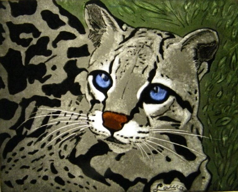 Corso di Pittura su Vetro Gatto