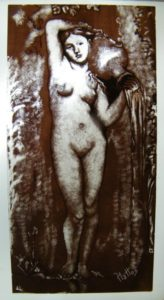 Glass Painting Course Nude