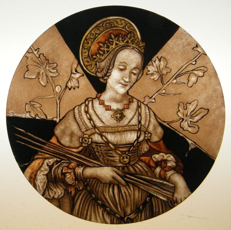 Glass Painting Course Saint Orsola