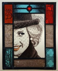 Stained Glass – Lady Diana
