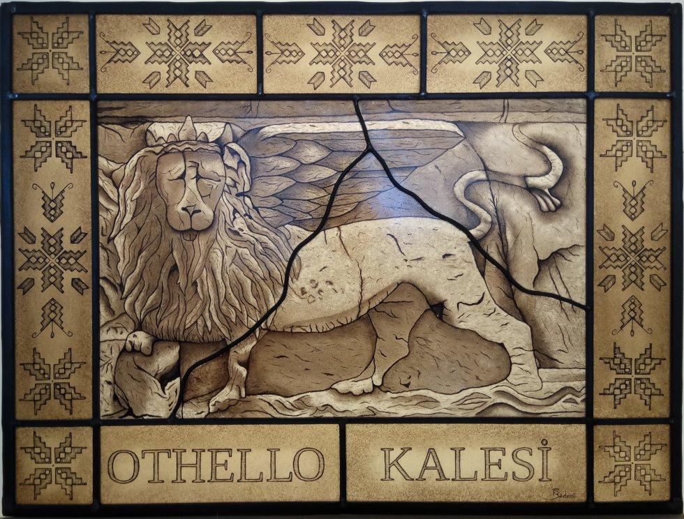 Curso de Vitrales León de Chipre
