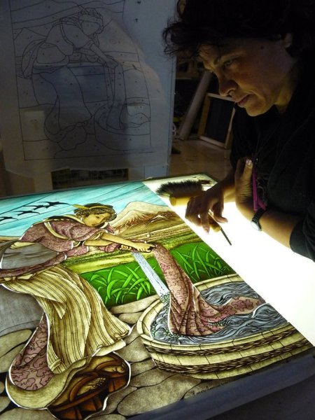 Stained Glass Course Lorenza