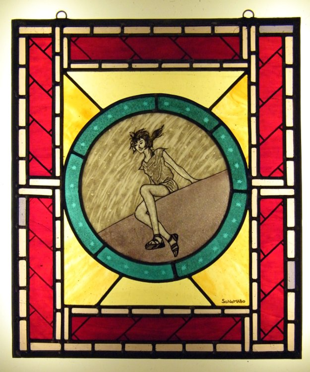 Stained Glass Course Michelle