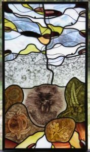 Stained Glass Course Hedgehog