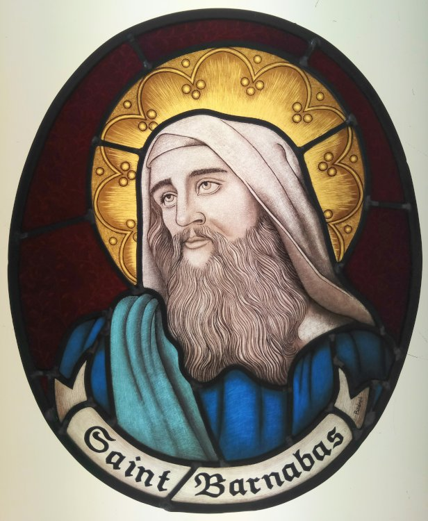 Stained Glass Course Saint Barnaba