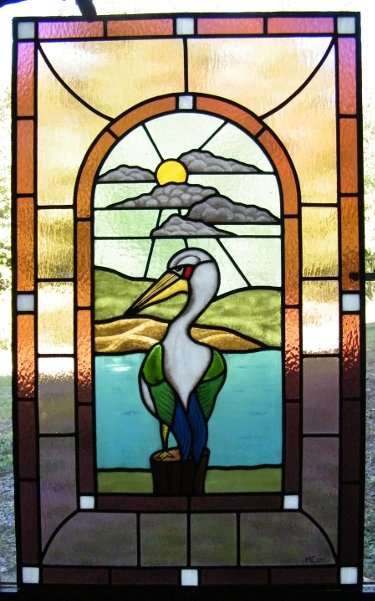 Leaded Stained Glass Course Pelican