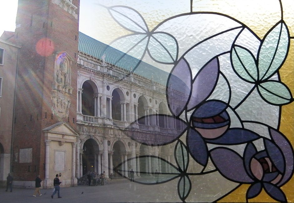 Stained glass Course in Vicenza Banner