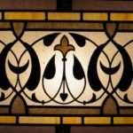 Arabic design for bathroom over mirror wall mounted stained glass lamp