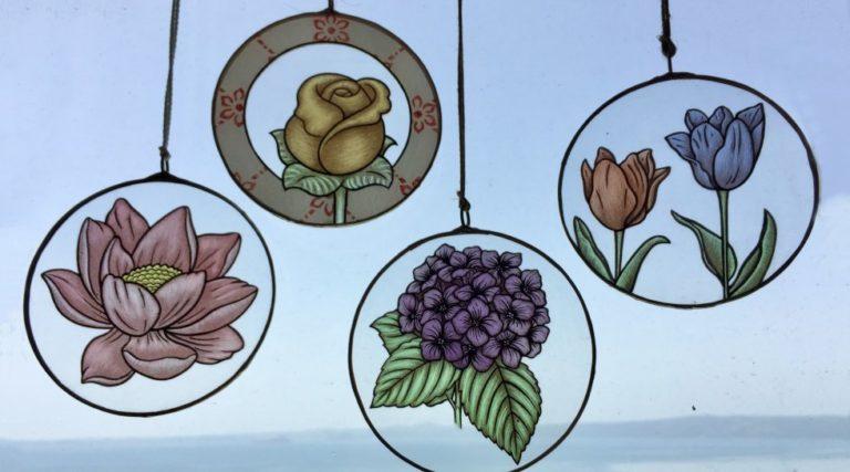 Feast Of Hydrangeas Suncatcher
