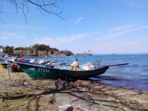 Lago di Bolsena Barche dei Pescatori