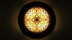 Round Arabian Style Wall Lamp