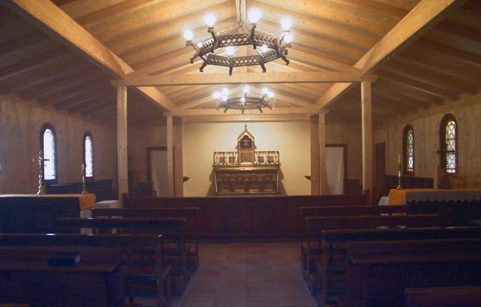 Benedictine Monastery Norcia Chapel