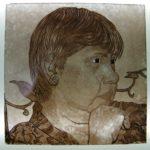 Glass Painting Face Bogotà