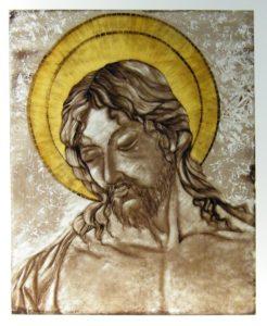 Pittura Vetro Colombia Cristo