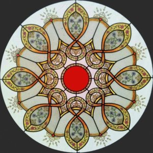 Islamic Rose window - final work