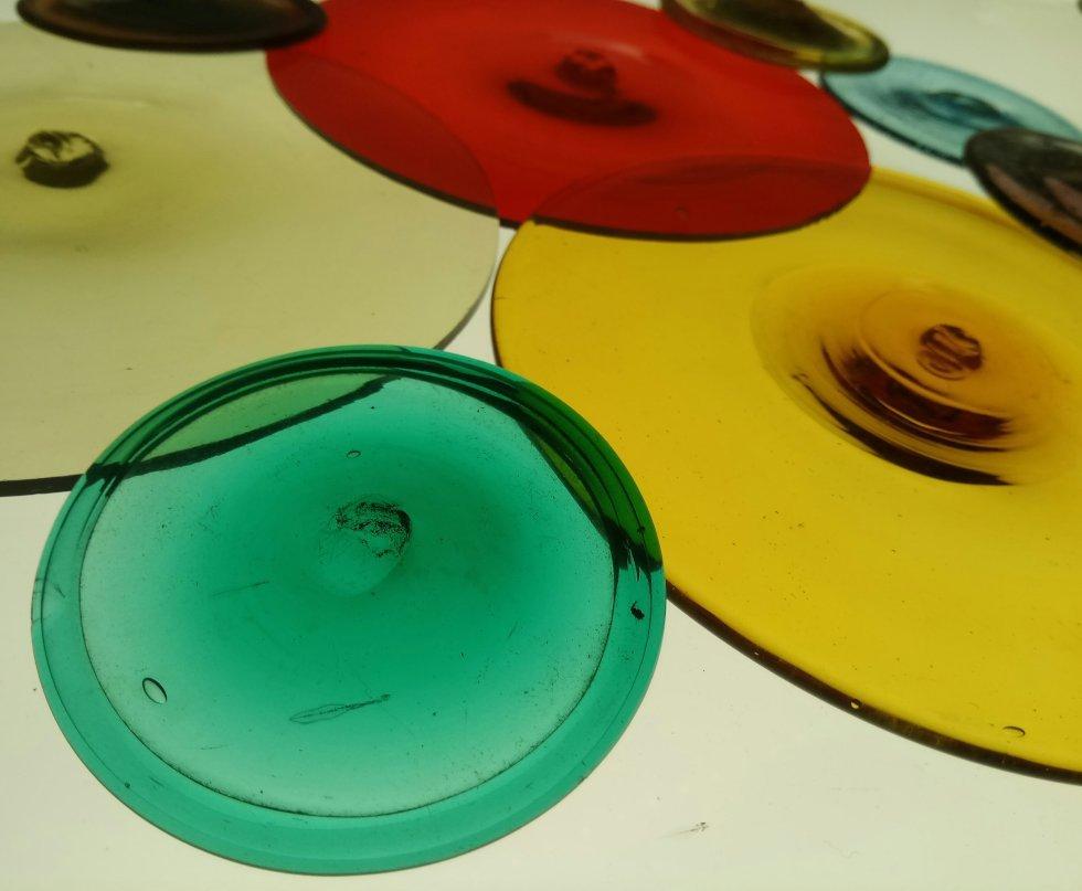 Rulli di vetro colori