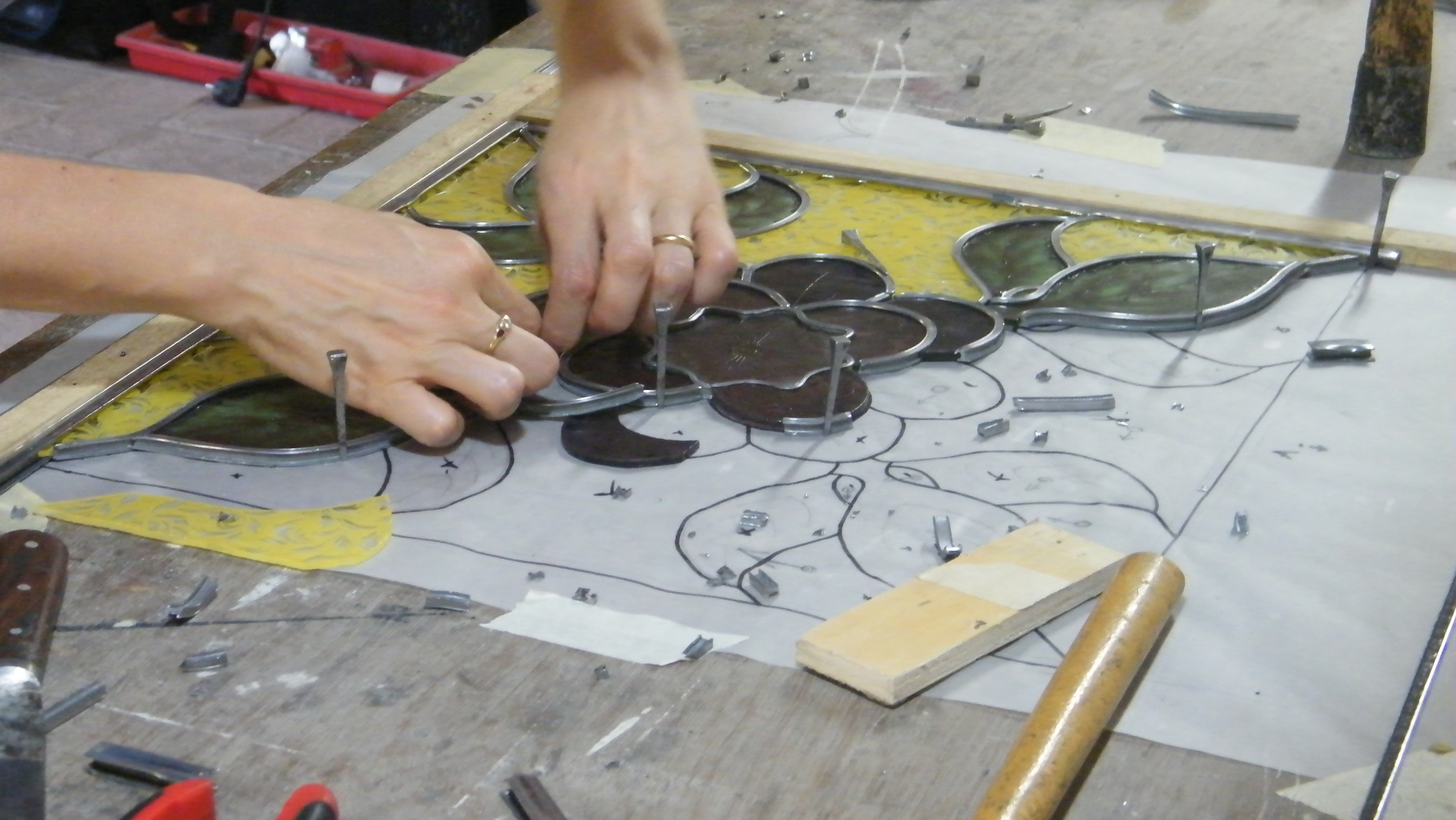 Stained Glass Courses in May, August, September leading