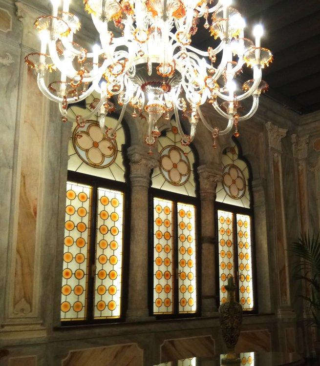 Ventana de tres luces hotel Mocenigo Palace Venecia