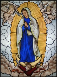 Virgin of Guadalupe Stained Glass