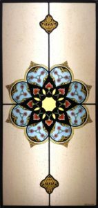 Moorish stained glass
