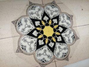 Vetrata Araba Pittura Vetro
