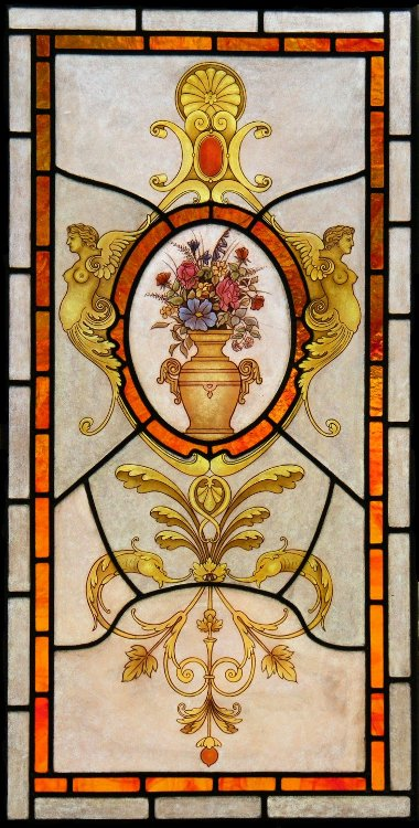 Baroque Stained Glass Window