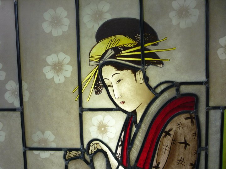 Stained Glass Japanese