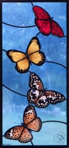 Stained Glass Butterfly IKO Studio