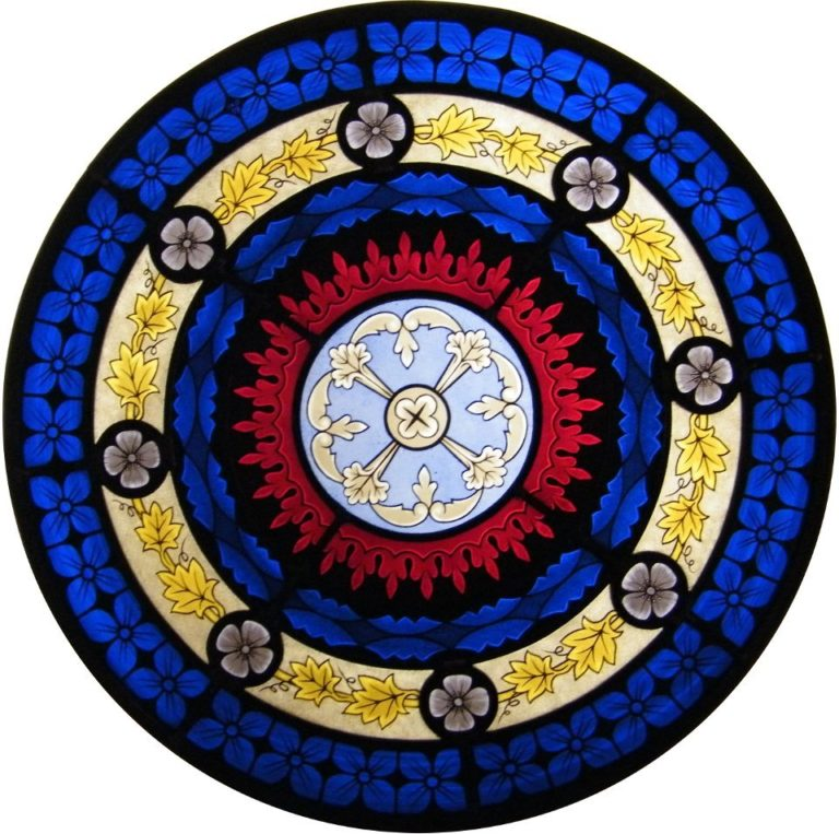 Decorative Rose Window
