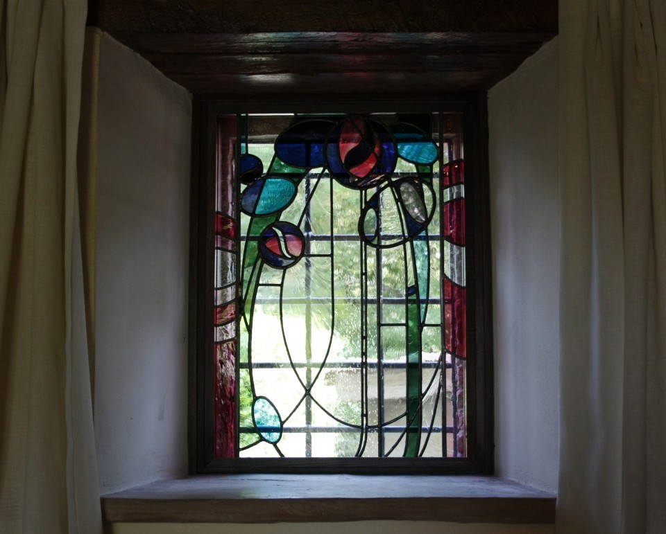 Mackintosh Style Stained Glass