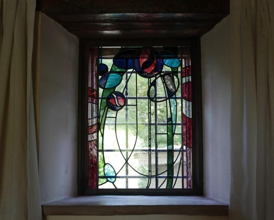 Vetrata Artistica Mackintosh