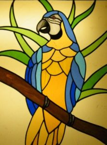 Stained Glass Course Parrot