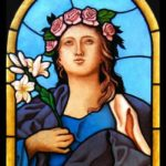 Iko studio Italy restoration of a stained glass window