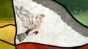 Detail of the bird