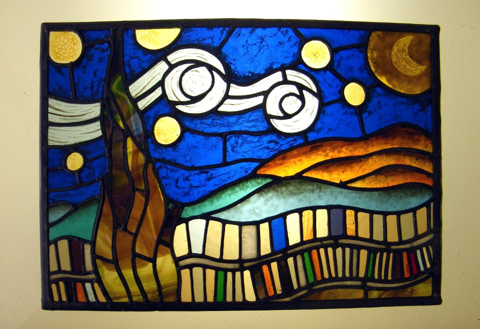 Stained Glass Van Gogh