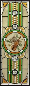 Stained Glass Music Motif