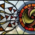 Vetrata Artistica con Spirale