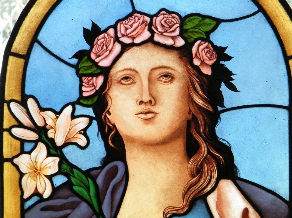 Vitrales Artisticos Sacros Santa Rosalia