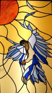 Stained Glass Eagle