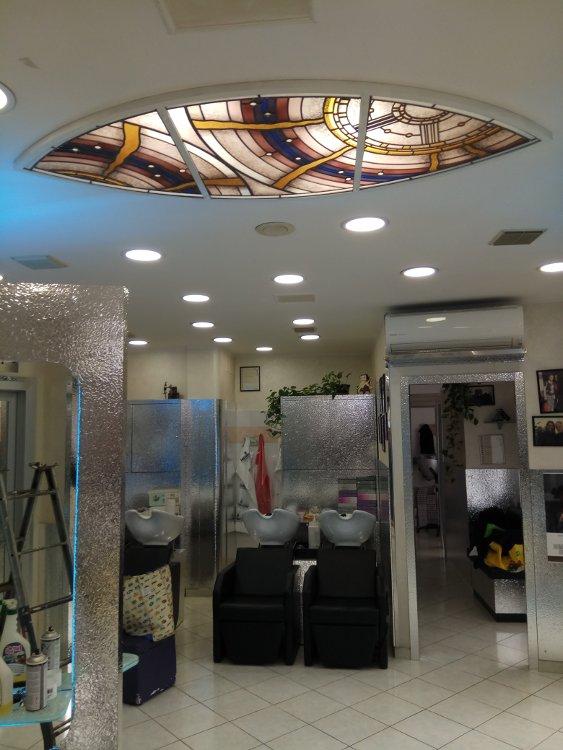 Vetrate Moderne Salone Bellezza