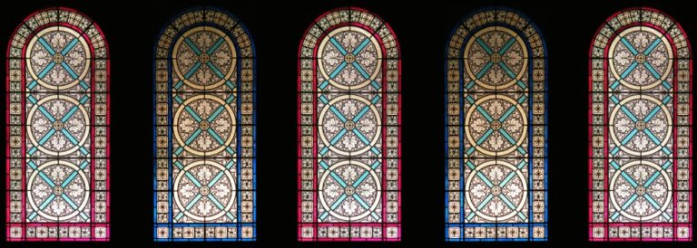 Gothic Stained Glass for the Benedictine Monks of Norcia
