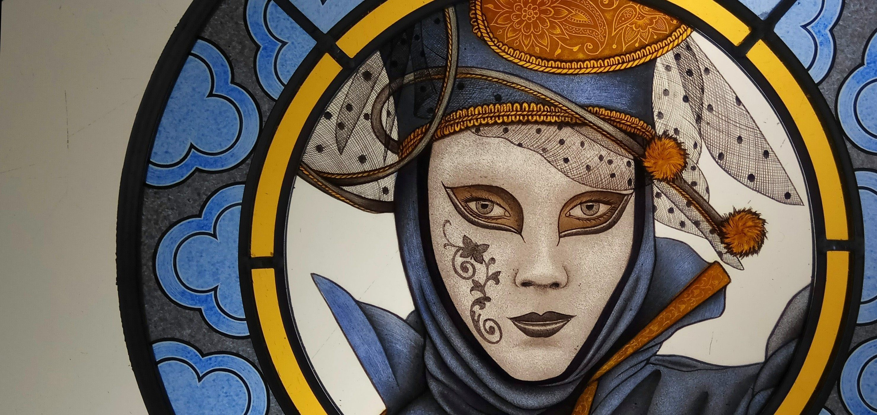 Stained Glass Roundels in Venice