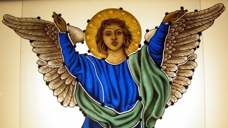 Vitrales Artisticos Sacros con Angel