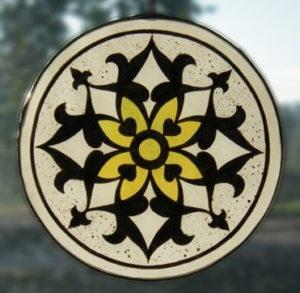 Yellow Arabian Design