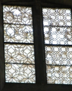 Poor Conservation of Stained Glass in Todi