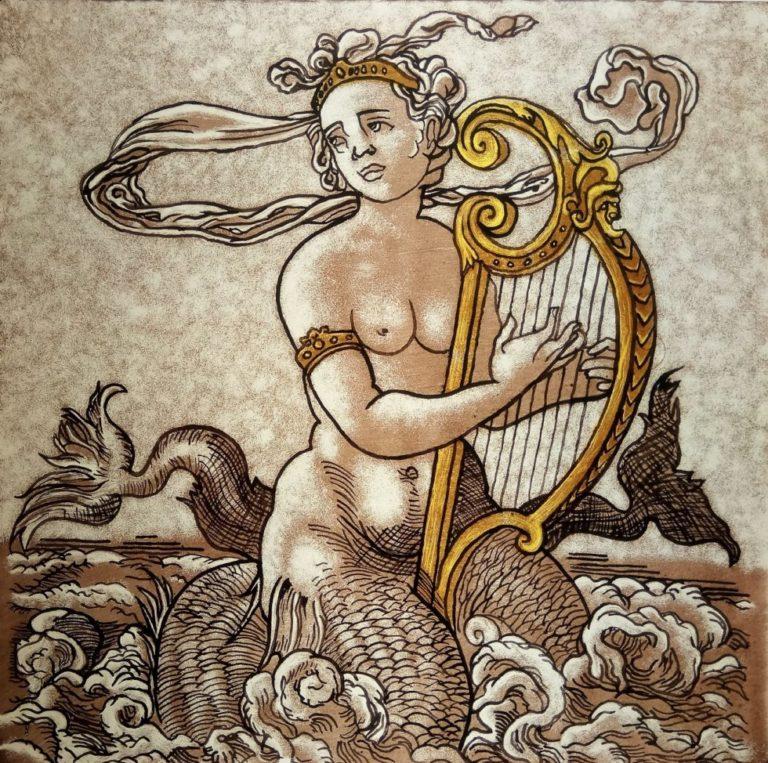 Dipinto Sirena