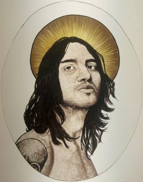 Portrait John Frusciante